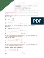 Pract. Diagonalización