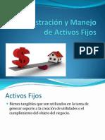 Administración y Manejo de Activos Fijos