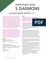 Chaos Daemons FAQ