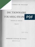 Dictionnaire touareg-français