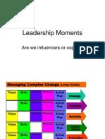 Leadership Moments for Principla Meeting June 2011