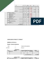 Presupuesto Cierres Predio TORREON