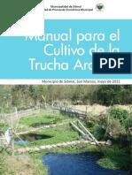 Cultivo de Trucha Arcoiris