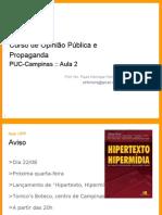 Paulo AulaOPP2 PUC-Campinas 2006-08-12