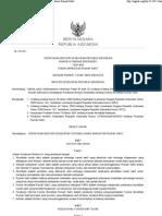 Permenkes 417 Menkes Per II 2011 Komite Akreditasi Rumah Sakit (KARS) BN 124-2011