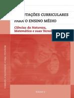 Orientações curriculares_EM_Ciências da Natureza