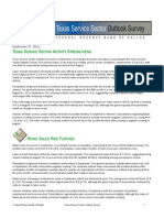 Texas Service Sector Survey Sept 2011