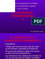 Transiciòn Epìdemiologica
