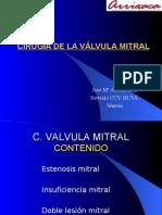 Cirugía Mitral