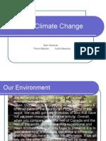 Canadian Climate Change Presentation
