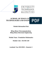 School of Innovative Technologies and Engineering