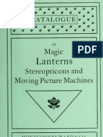 Catalogue of Magic Lanterns