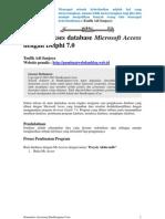 Mengakses Database Access Dengan Delphi 7
