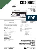CDX-M630