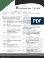 Programación cultural Expouniversidad