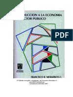 Introducción a la Economía del Sector Público ejemplar actualizado a septiembre 2011
