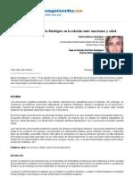 Psicologiapdf 497 de Lo Psicologico a Lo Fisiologico en La Relacion Entre Emociones y Salud