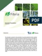FibriaCorporatePresentationFev2011