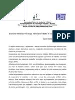 Economia Solidária e Psicologia interface no trabalho de conflitos interpessoais