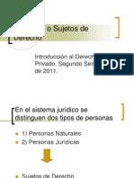 Personas o Sujetos de Derecho (1)