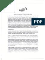 COMPROMISO E INVITACIÓN POR UN GOBIERNO DE UNIDAD NACIONAL 26092011 (1)