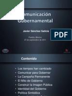 Comunicación Gubernamental - Javier Sanchez-Galica