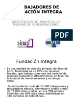 TRABAJADORES DE FUNDACIÓN INTEGRA