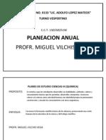 Planes de Estudio Ciencias III Sec. 133 t.V.