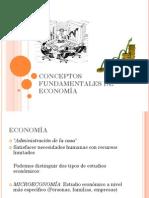 CONCEPTOS FUNDAMENTALES DE ECONOMÍA. PSU