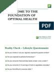 Nutrilite Foundation of Optimal Health Module