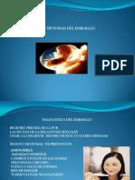 Signos y Sintomas Del Embarazo