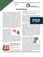 Vasovagal Syncope 2.0