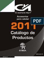 Catalogo CYA Accesorios Celular