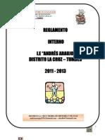 i.e a.araujo (2011) to Interno
