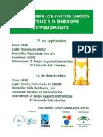 Escuela sobre los Efectos Tardíos de la Polio y el Síndrome Postpoliomielitis