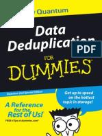 Data Deduplication for Dummies 2011