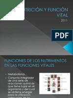 NUTRICIÓN Y FUNCIÓN VITAL