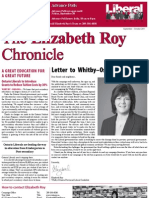 The Elizabeth Roy Chronicle