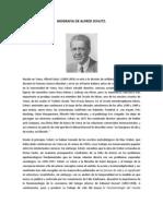 Biografia de Alfred Schutz
