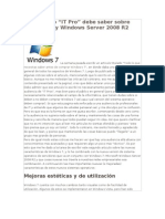 windows7 y winserver2008