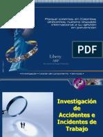 Investigaciones de Accidentes de Trabajo 2009 Arp Liberty