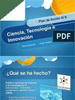 Plan 6. Ciencia, Tecnología e Innovación