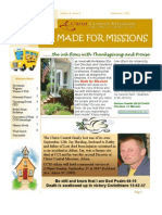 Made for Missions Newsletter 2