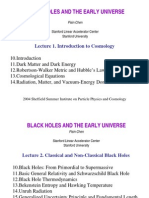 Pisin Chen - Black Holes and the Early Nuniverse Presentation)