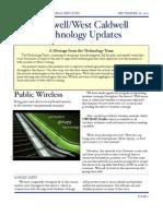 Technology Update, CWC 9/2011