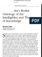 Mulla Sadra and Theory of Know