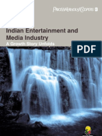 The Indian Entertainment and Media Industries-A Growth Story Unfolds