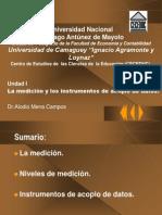 Unidad 1 Medición e instrumentos
