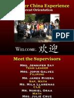 XCE Parent Orientation 2011