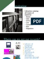 MARC Cataloguing